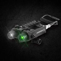 Drop shipping LASERSPEED LS 2L1 GIR Wholesales Millitary Standard Dual Beam Green Laser and Infrared Laser Combo New Model