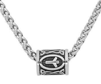 Nordic Viking Amulet Rune Beads Pendant Necklace  Viking Necklace