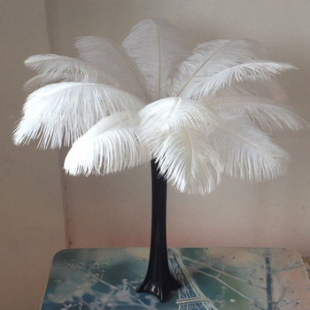 10 Colorful Pack 20-30cm Ostrich Feathers Plume Craft Centerpiece Wedding Party Decor