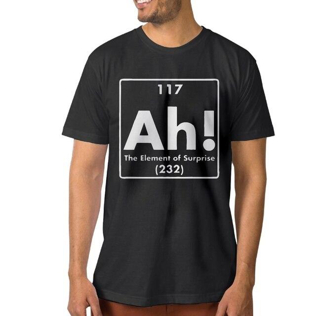 Élément T Brand Surprise De New La Zity Ah Shirts Imprimé Lettre 8REwqw