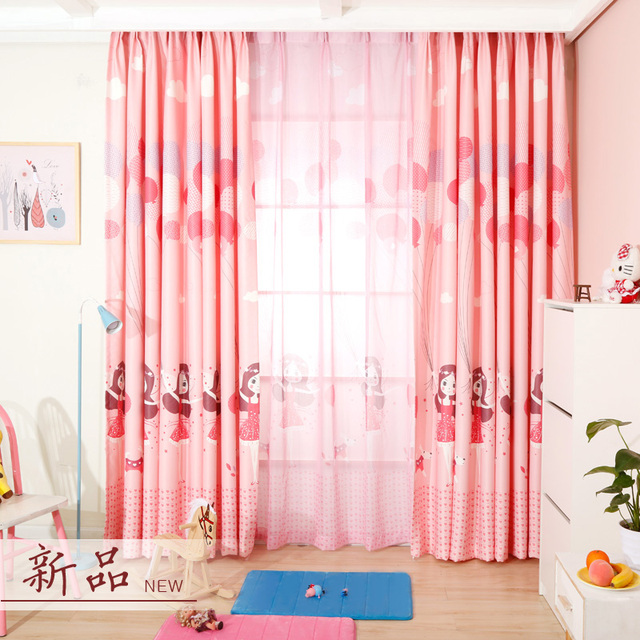 FINO Blackout Prinzessin Fenster Vorhang Für Kinder Zimmer Rosa ...