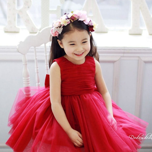 Aliexpress Buy Big Boy Girl Red Wedding Dress Flower Princess Dress Costume Tutu Children