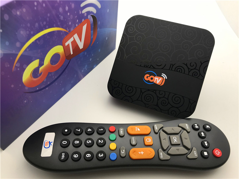 HTV 6 Go TV With 2 Years Service Tv Box Brazil Iptv Live Channels+vod+playback Android 7.1 OS TV Box 1GB 8GB Medial Player