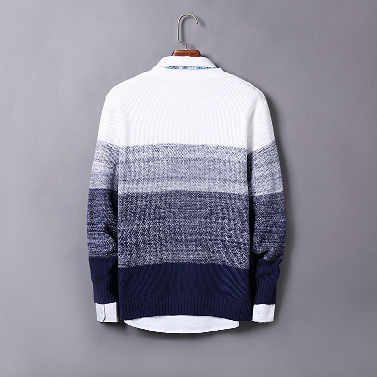 High Quality Mens Sweater New 2015 Autumn Winter Patchwork Cashmere Wool Cardigan Men Sweater Brand Casual V-Neck Mens Clothing (2)