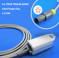 long cable adult finger clip  SPO2 Sensor with 5pin for TRIUP TR6628-6000P patient monitor