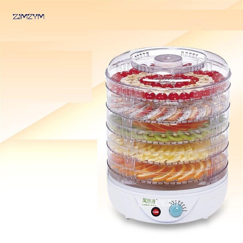 FD770B Hause elektrische Gemüse Kraut Fleisch Trockner Snacks Lebensmittel Trockner Obstdörr Mit 5 Trays 110 V/220 V Entwässerungsmittel Zu