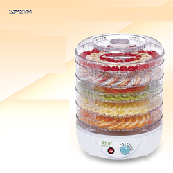 FD770B Home electric Vegetable Herb Meat Drying Machine Snacks Food Dryer Fruit Dehydrator With 5 Trays 110V/ 220V Dehydrators