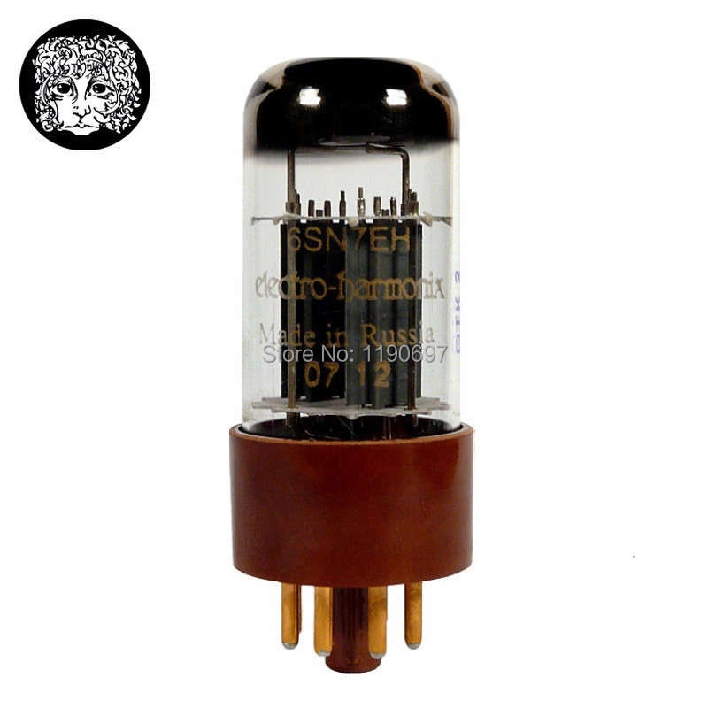 1PC Russia Tube New Electro-Harmonix Gold 6SN7 6SN7EH Replace 6N8P 6H8C CV181 Tube 8PINS Electron Tube Free Shipping 2pcs russia tube new tung sol kt150 tube 8pins electron tube free shipping