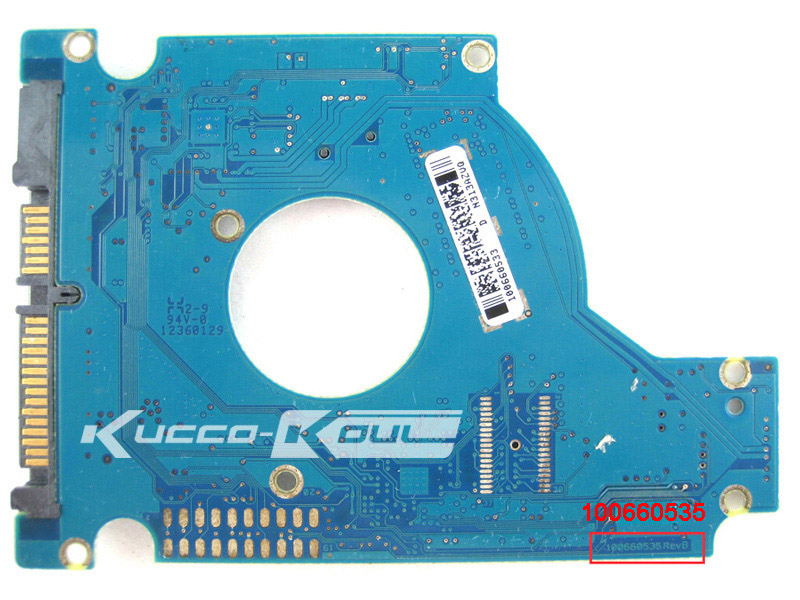 hard drive part PCB board printed circuit board 100660535 for Seagate 2.5 SATA hdd repair ST9320325AS/ST9500325AS