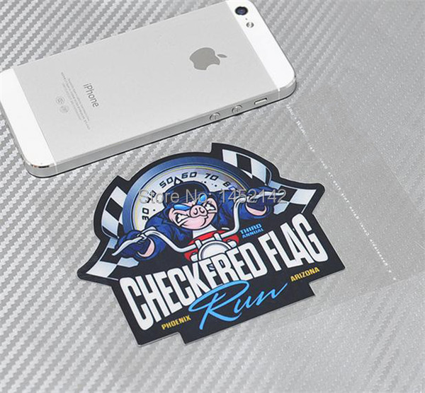Aliexpresscom  Buy Pcslo CHECKERED FLAG Stickers Waterproof - Motorcycle helmet decals and stickers