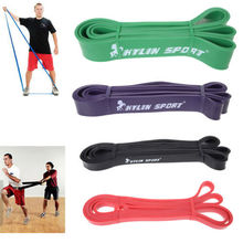 Set of 4 new hot elastic resistance strength power bands fitness equipment for wholesale and free shipping rising  sport
