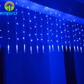 4*0.6M Icicle Home Outdoor Holiday Christmas Decoration Lights Wedding Xmas String Fairy LED Curtain Garlands Party Bulb Light