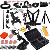 Tekcam Acción Cam Accesorios para Sony AS200V x3000 AS100V AS10 AS20 ION Aire Pro Gopro 5 xiaomi yi 4 k Acción SJCAM Cámara