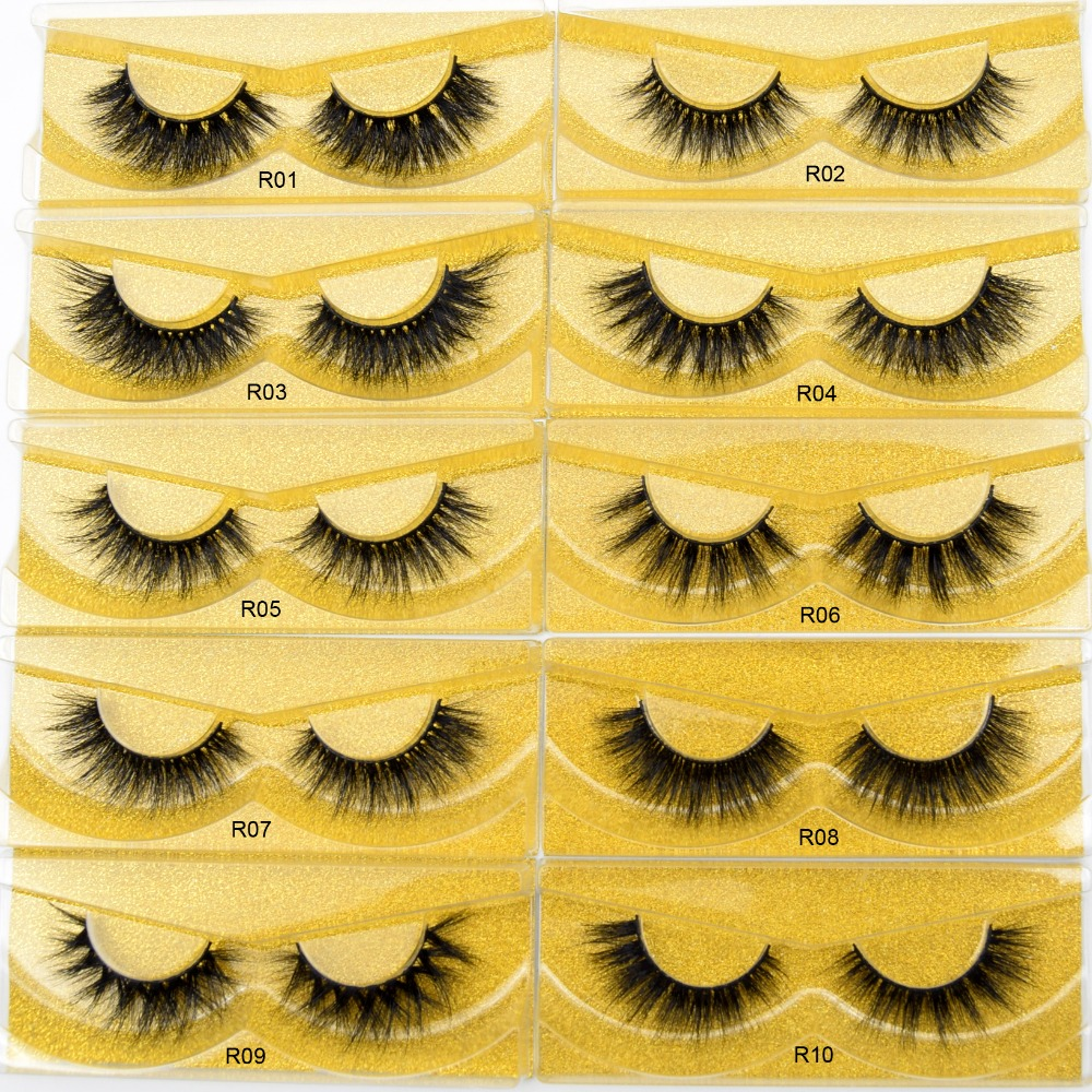 1542181ec1f Visofree Eyelashes 3D Mink Eyelashes Crisscross Thick Lashes Hand Made Full  Strip Lashes Mink Lashes Volume Soft Lashes Eyelash