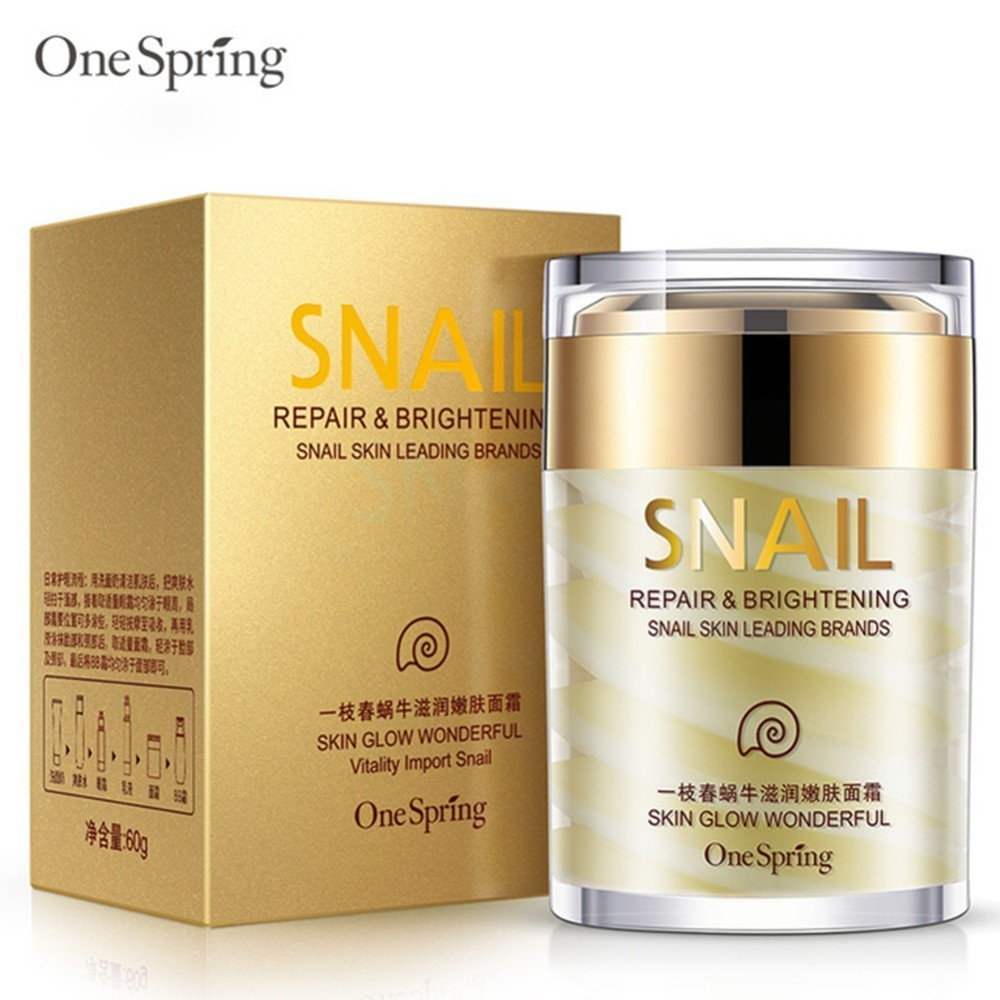 Natural Snail Cream Facial Moisturizer Face Cream Whitening Ageless Anti Wrinkles Lifting Facial Firming Skin Care Beauty Tools