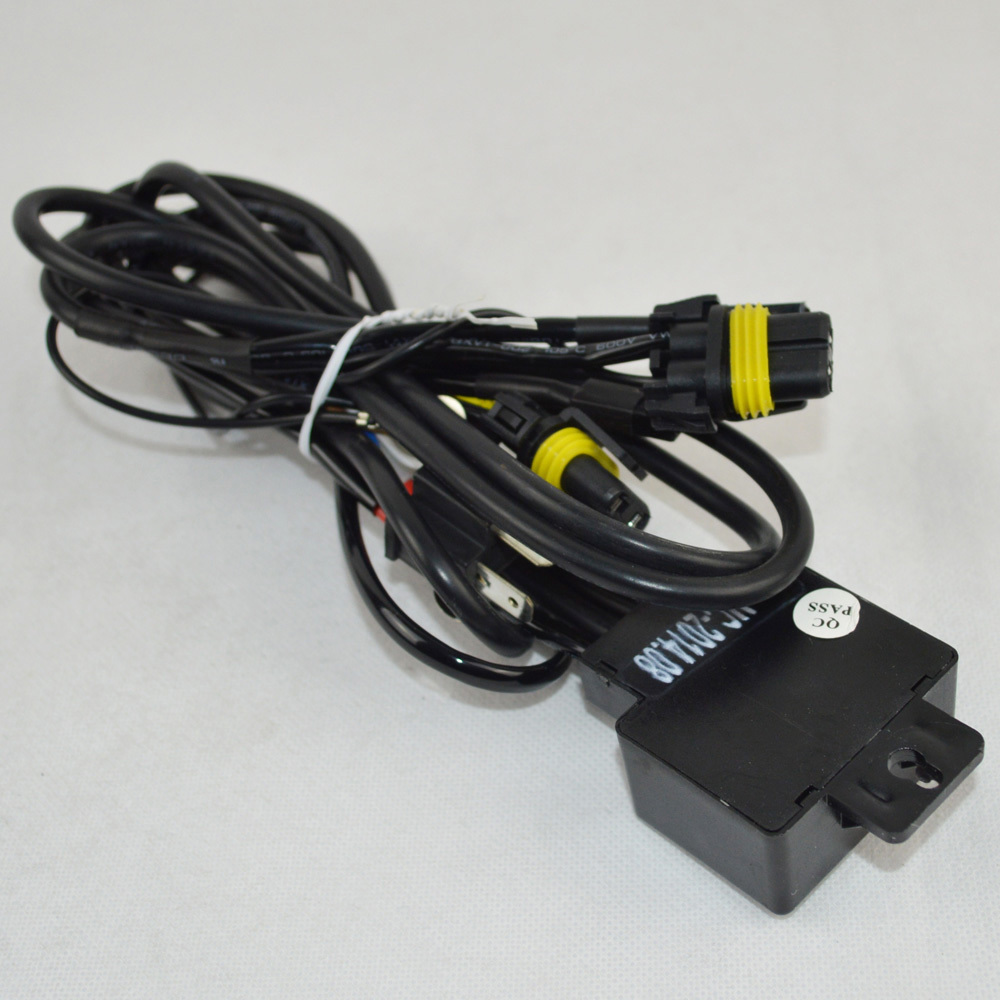 car kit bi xenon h4 high low hid wire harenss headlight. Black Bedroom Furniture Sets. Home Design Ideas