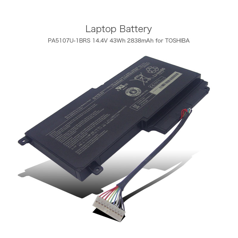 New Genuine Original PA5107U-1BRS Laptop <font><b>Batteries</b></font> For <font><b>Toshiba</b></font> <font><b>Satellite</b></font> L55 L55t <font><b>L50</b></font> <font><b>L50</b></font>-A P50-A <font><b>Batteries</b></font> 14.4V 43WH 2838mah image