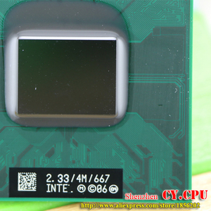 Image 3 - شحن مجاني حاسوب محمول انتل كور 2 Duo T7600 CPU 4M مقبس 479 كاش/2.33GHz/667/معالج حاسوب محمول ثنائي النواة