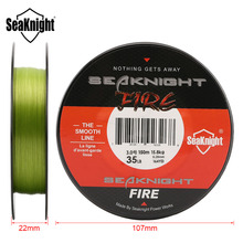 SeaKnight Fire Line 150M Fishing Fire Line Smooth PE Fire Fishing Line Monofilament Floating Line Saltwater/Freshwater 6-40LB