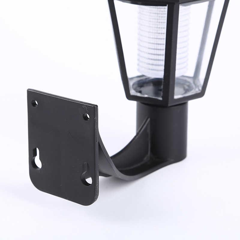 16Led Outdoor Solar Lampu Dinding Dekorasi LED Tenaga Surya Taman Jalan Rumput Luminaria Lampu Solar Lampu Malam 3600 MAh
