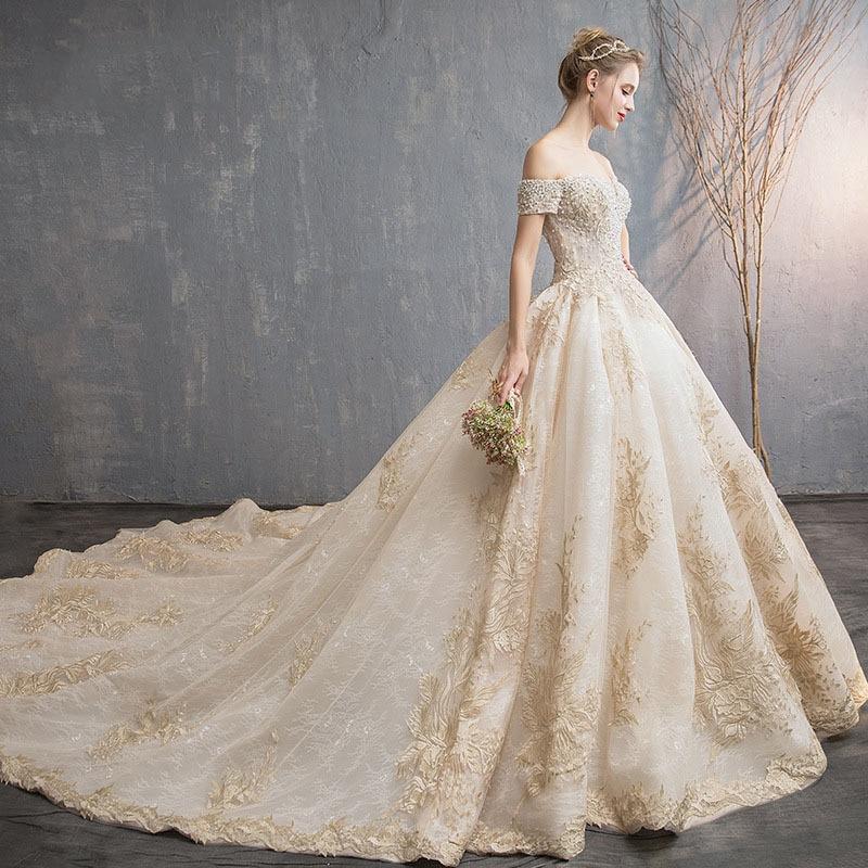 Романтичное длинное платье для беременных, длинное кружевное платье цвета шампанского с вырезом лодочкой и коротким рукавом для беременны