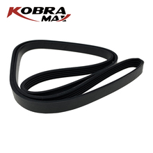 KOBRAMAX  Auto Parts Triangular V ribbed Belt 5PK1750 Made of High Quality Rubber Gwear Resistance For Renault