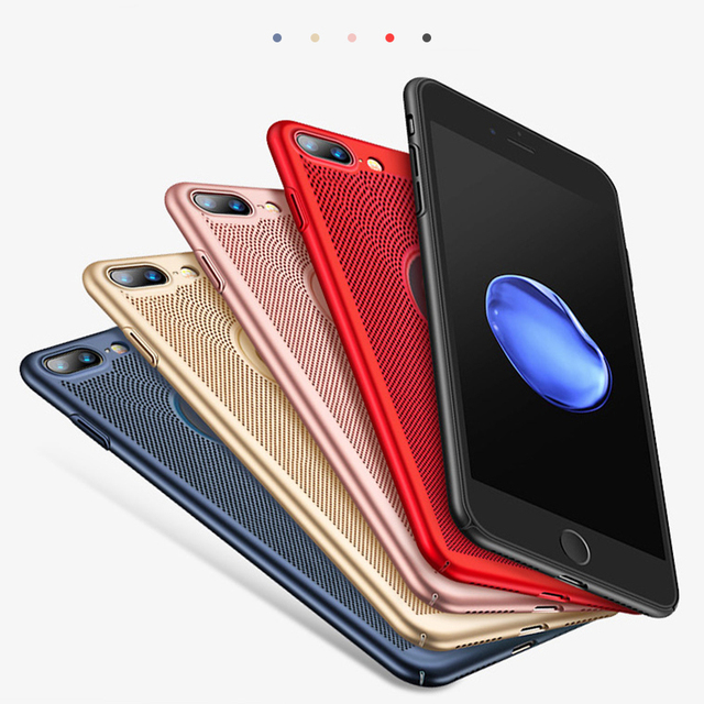 Heat Dissipation iPhone Case For iPhone X XS MAX XR 8 Plus  5
