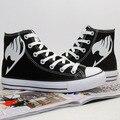 Venta caliente anime Animación Fairy Tail Cosplay Zapatos Amantes Zapatos 2 Color de las mujeres y los hombres