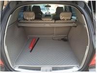 New Mats Special Trunk Mats For Mercedes Benz ML350 2015 Durable Waterproof Car Carpets For Benz