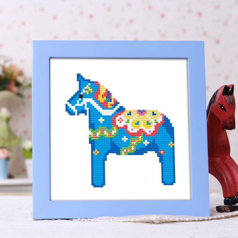 Needlework,DIY DMC Cross stitch,Sets For Embroidery kits,horse home decro Counted Cross-Stitching,factory direct sale