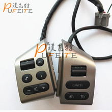 Best selling !FOR Nissan/LIVINA &FOR Nissan/TIIDA &FOR Nissan/SYLPHY Car accessories buttons Car steering wheel control buttons