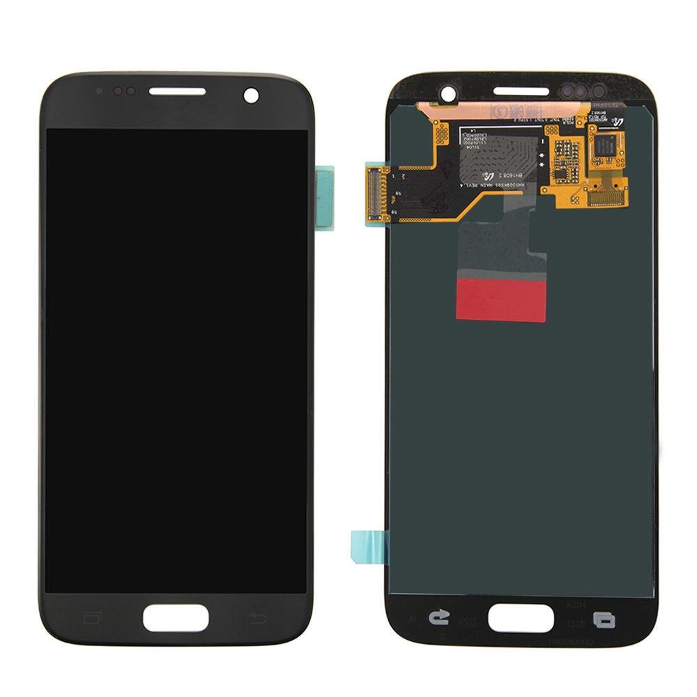 ORIGINAL SUPER AMOLED LCD pas de cadre pour SAMSUNG Galaxy s7 affichage G930 G930F écran tactile numériseur