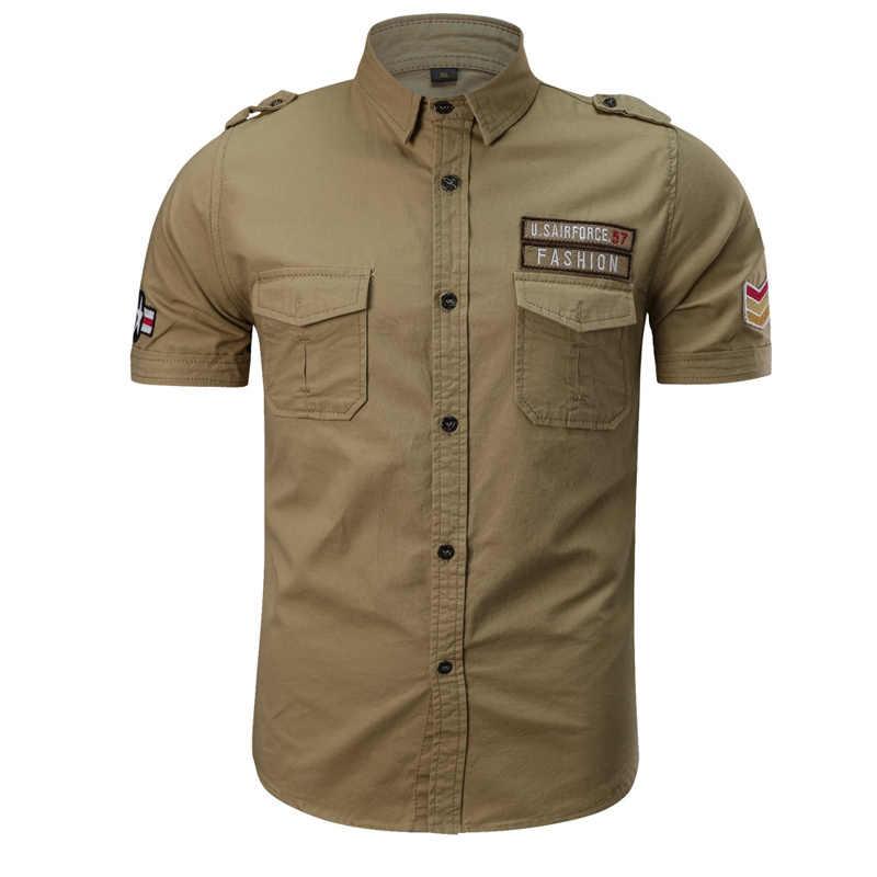 77city Killer lato męska koszulka bawełniana wojskowe  QXrZm