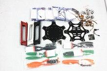 F05114-F F550 Hexa-Rotor Air Frame Flame Wheel Kit KK 2.3 Controller HexaCopter RTF W/ ESC Motor Propeller