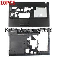 10 шт. Новый Нижний Базовый чехол и Упор для рук верхний регистр HDMI комбо для lenovo G570 G575