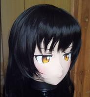 (C2 053)Top Quality Handmade Female Silicone Rubber Face KIG Masks Cosplay Kigurumi Mask Crossdresser Doll Japan Anime Role Play