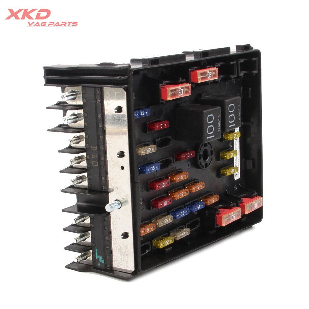 hight resolution of main relay fuse box fit for vw passat b6 b7 tiguan cc sharan audi seat alhambra 3c0937125a in fuses from automobiles motorcycles on aliexpress com