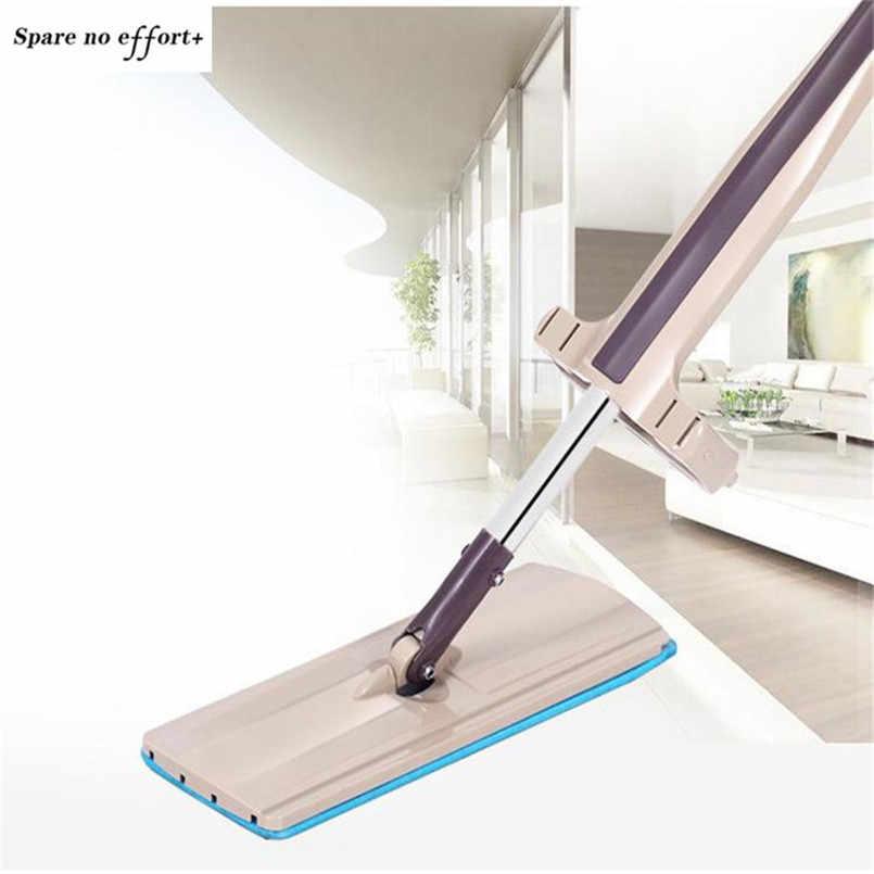 Spin Mop Piso De Madeira Telha Cerâmica Lisa Automática Mops Floor Cleaner para Ferramentas de Limpeza Doméstica Mop Pó Doméstico Mopa Limpieza