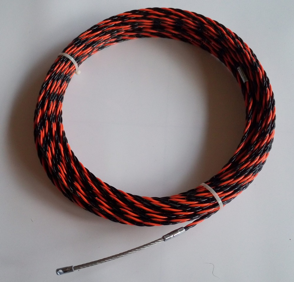 4mm nylon fish tape,Cable puller,duct rodder ,snake rod,push pull ...