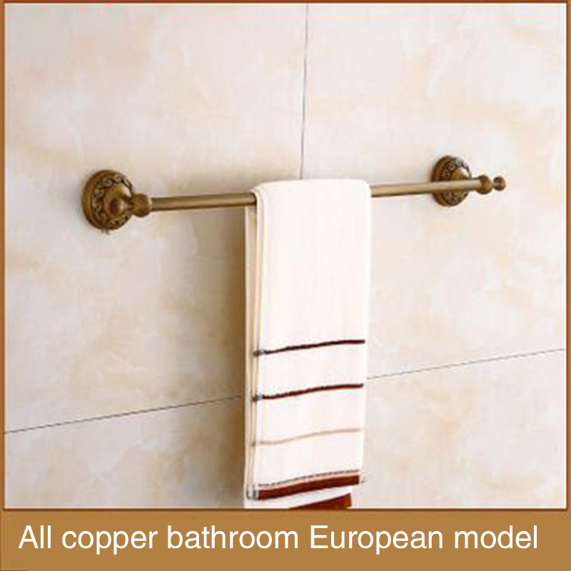 European style, copper, antique, home improvement bathroom, towel pendant, retro hardware, bathroom accessories cube 2 360