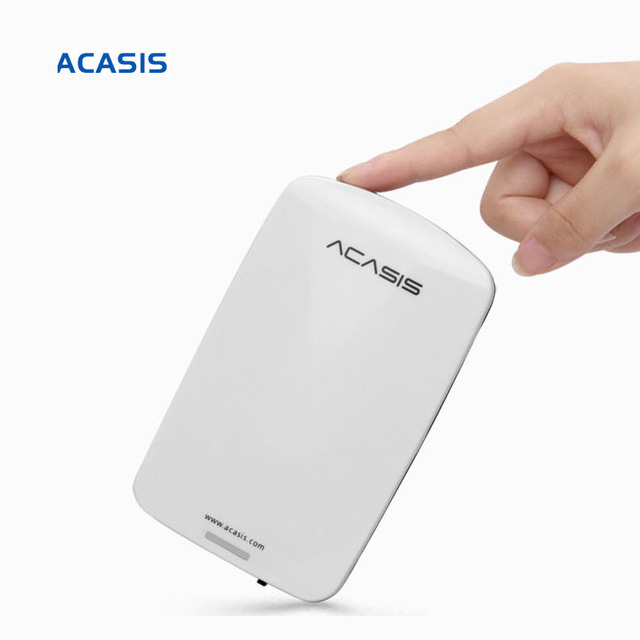 "2.5""  ACASIS Original HDD External Hard Drive 160GB/250GB/320GB/500GB Portable Disk  Storage USB2.0 Have Power Switch On Sale"