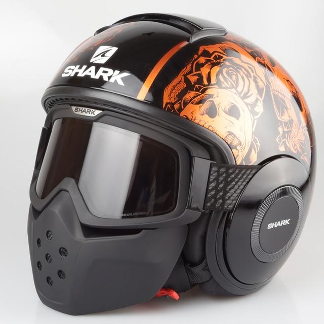 100% Original SHARK RAW/DRAK SANCTUS Casco Capacete MOTO ...