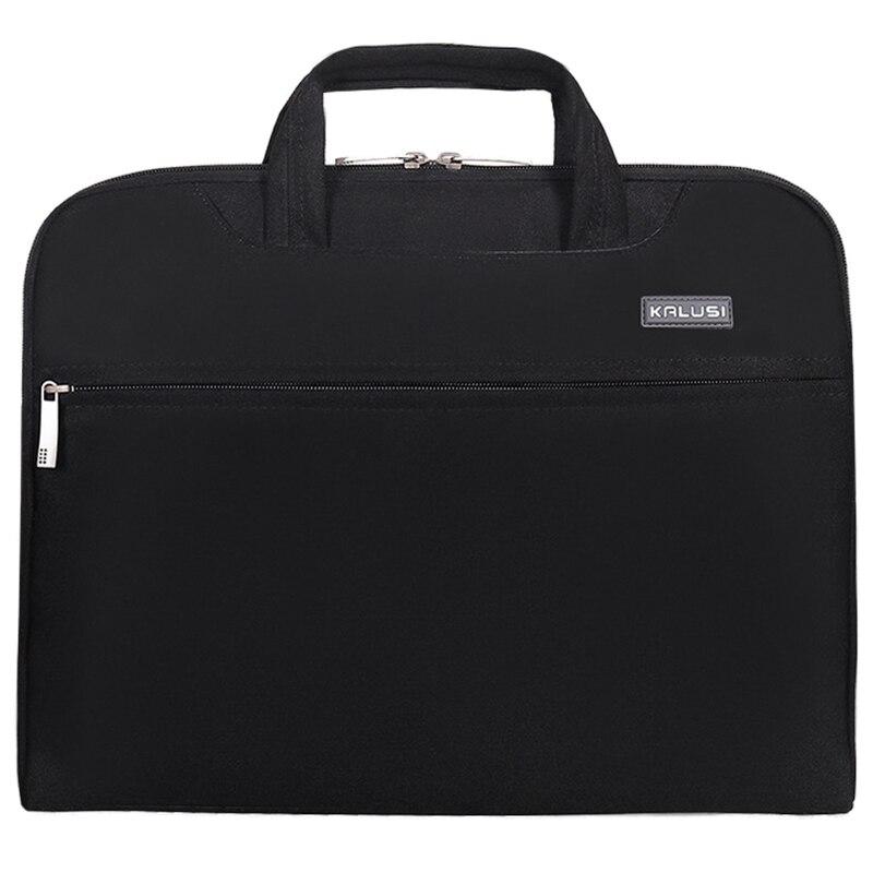 New waterproof arrival laptop bag case computer bag notebook cover bag 15 inch for Apple Lenovo Dell Computer bag(Black)
