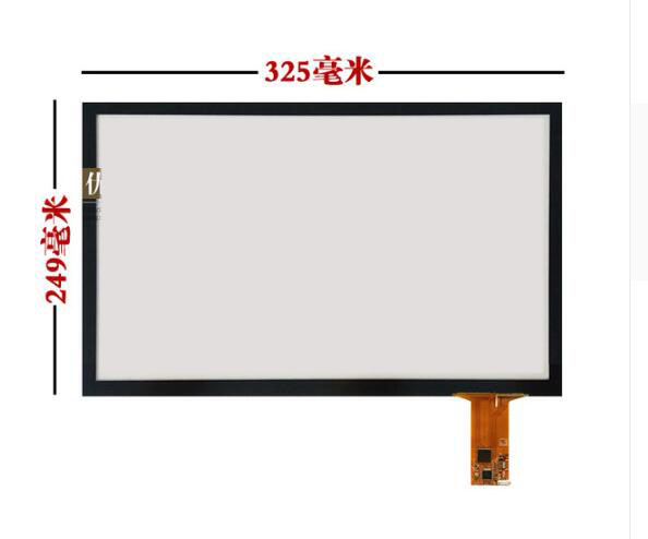249*325 Excellent screen 15 inches capacitive touch screen LCD computer display capacitive touch screen ten points enza costa свитер
