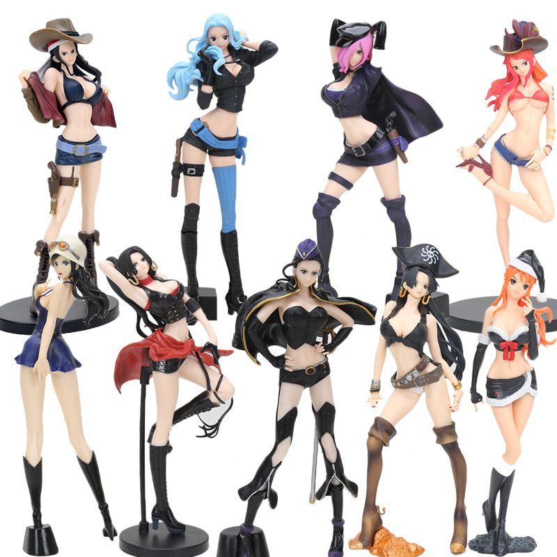 Toys & Hobbies One Piece Flag Diamond Ship Nami Robin Vivi Boa Hancock Vinsmoke Reiju Glitter & Glamours Pvc Action Figure Toy Sale Price