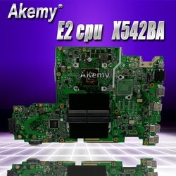 X542BA laptopa płyta główna do asusa X542B X542BP A580B K580B płyty głównej płyta główna 100% test E2 9220M procesora Płyty główne Komputer i biuro -