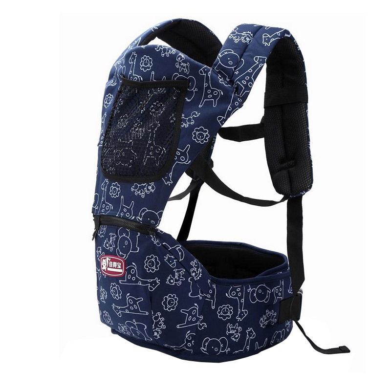 Multi Function Breathable Cotton Baby Backpack Carrier Ergonomic Infant Waist Stool Outdoor Kangaroo Baby Suspenders MT100823