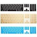 Для Apple Keyboard Cover имак G6 Desktop Protector Flim Красочный Силиконовой Кожей С Цифровой Клавиатуры Для Mac G5 Кожи Приложение