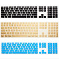 For Apple Keyboard Cover iMac G6 Desktop Protector Flim Colorful Silicone Skin With Numeric Keypad For Mac G5 Skin App