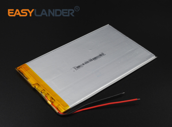 2.5x75x130mm 3.7V 3000mAh  Rechargeable li Polymer Li-ion Battery For Bluetooth Notebook Tablet PC Consumer electronics  2575130